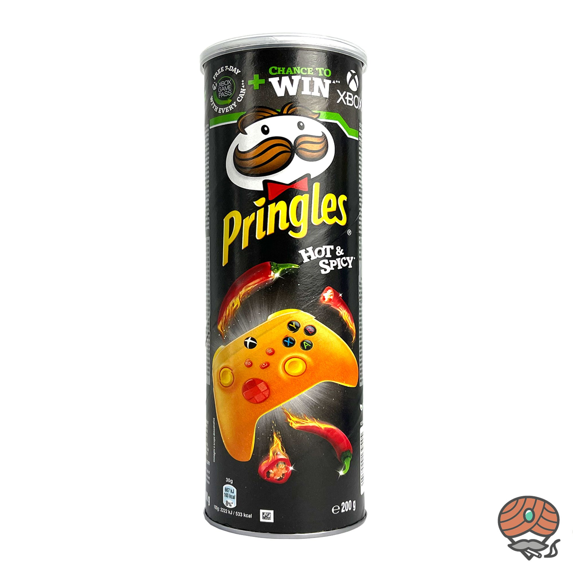 Pringles Hot & Spicy 200g Dose