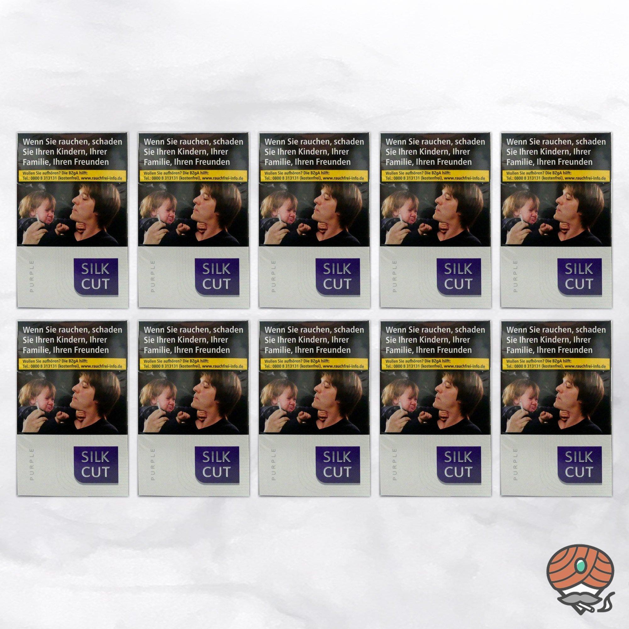 1 Stange Silk Cut Purple Filterzigaretten 10 x 20 Stück