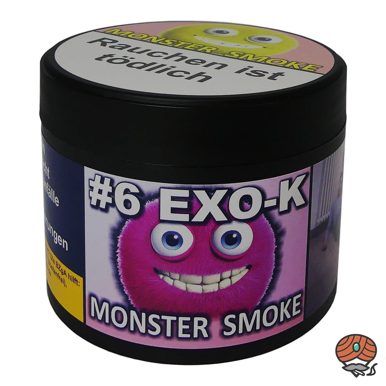 Monster Smoke #6 EXO-K 200 g - Shisha Tabak