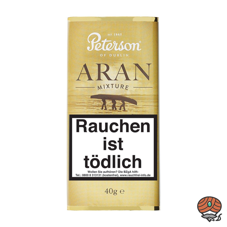 Peterson Aran Mixture Pfeifentabak 40g Pouch / Beutel
