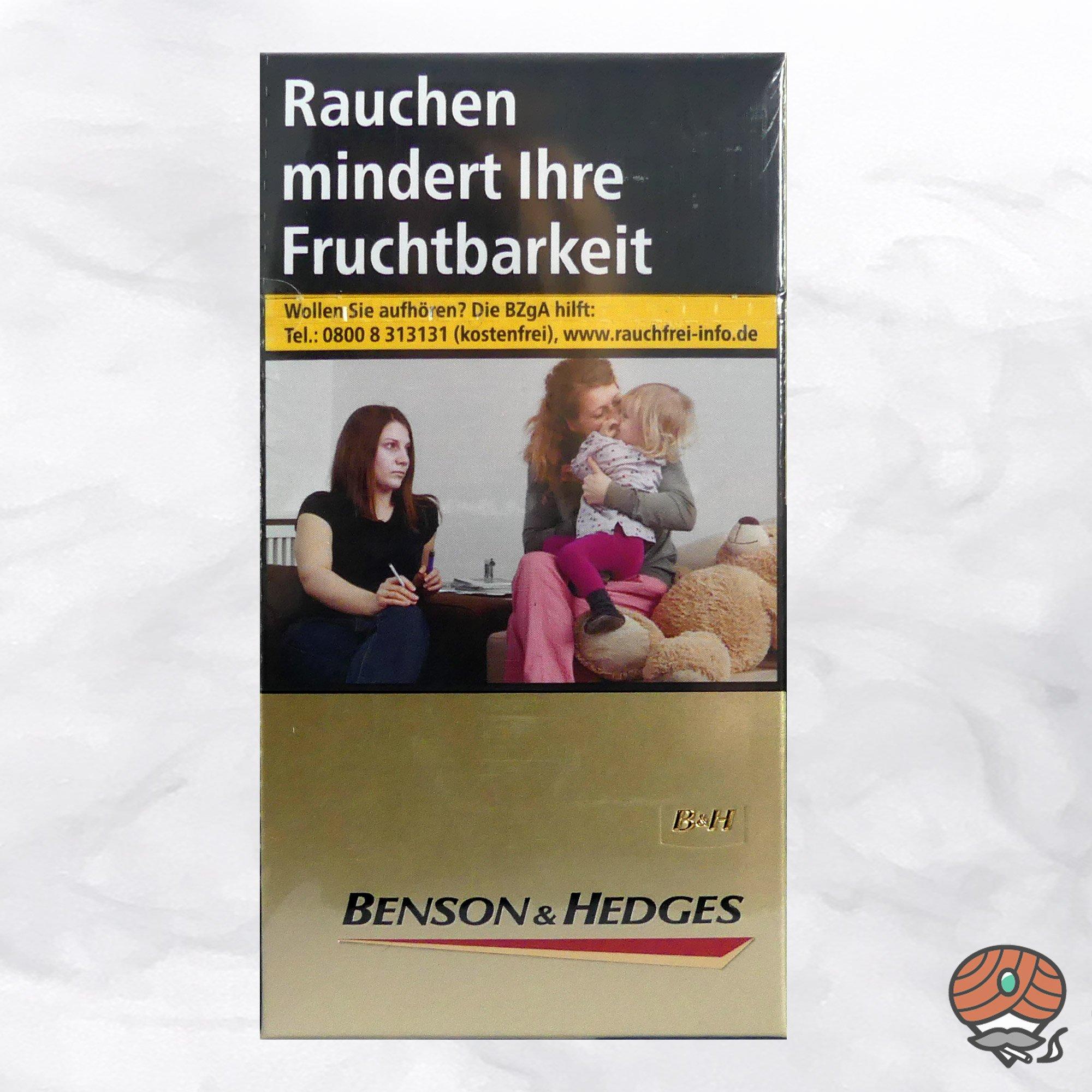 Benson & Hedges Gold LONG Zigaretten (20 Stück)