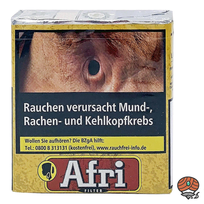 Afri Rot Filterzigaretten ohne Zusätze im Softpack - Inhalt 25 Zigaretten