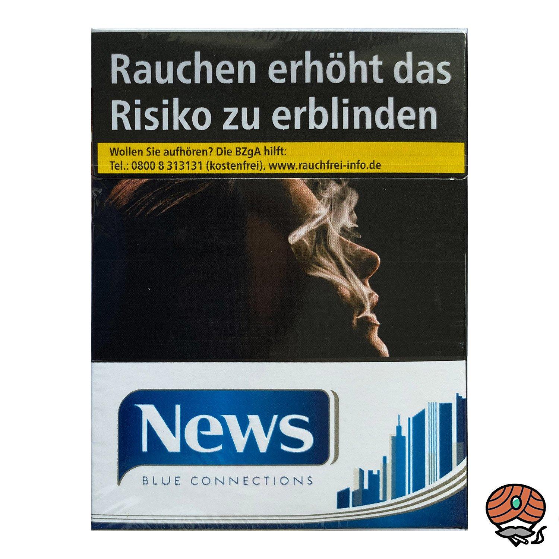 NEWS Blue Connections Filterzigaretten