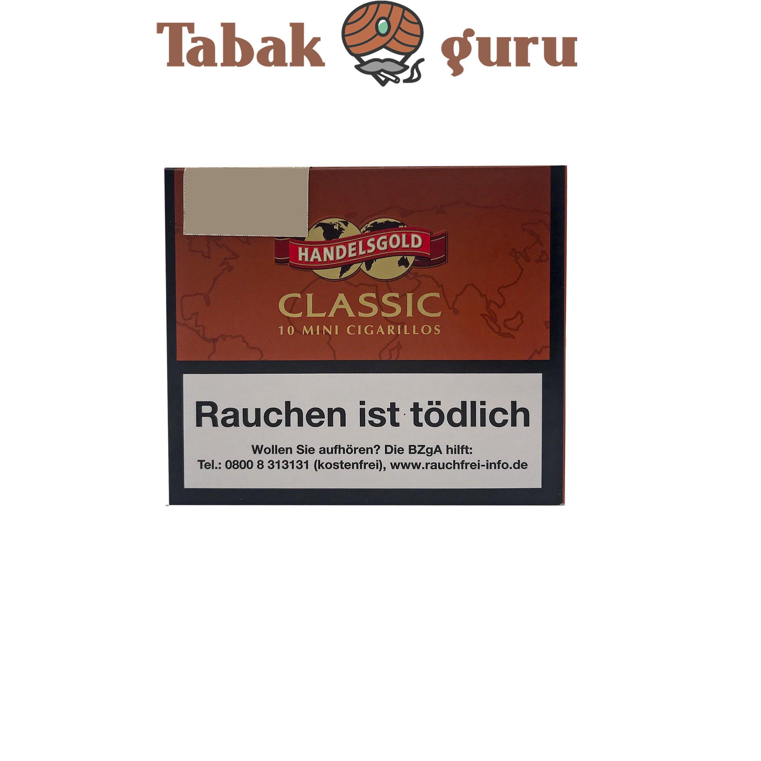 Handelsgold Mini Classic No. 268 Filterzigarillos a 10 Stück