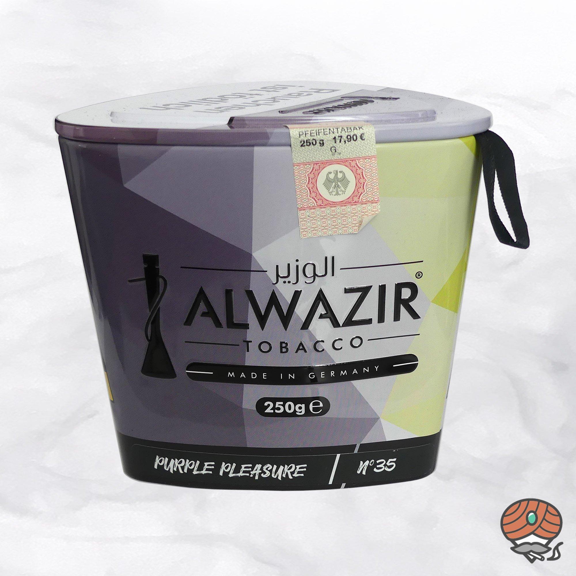 Alwazir Shisha Tabak - No. 35 - PURPLE PLEASURE 250g