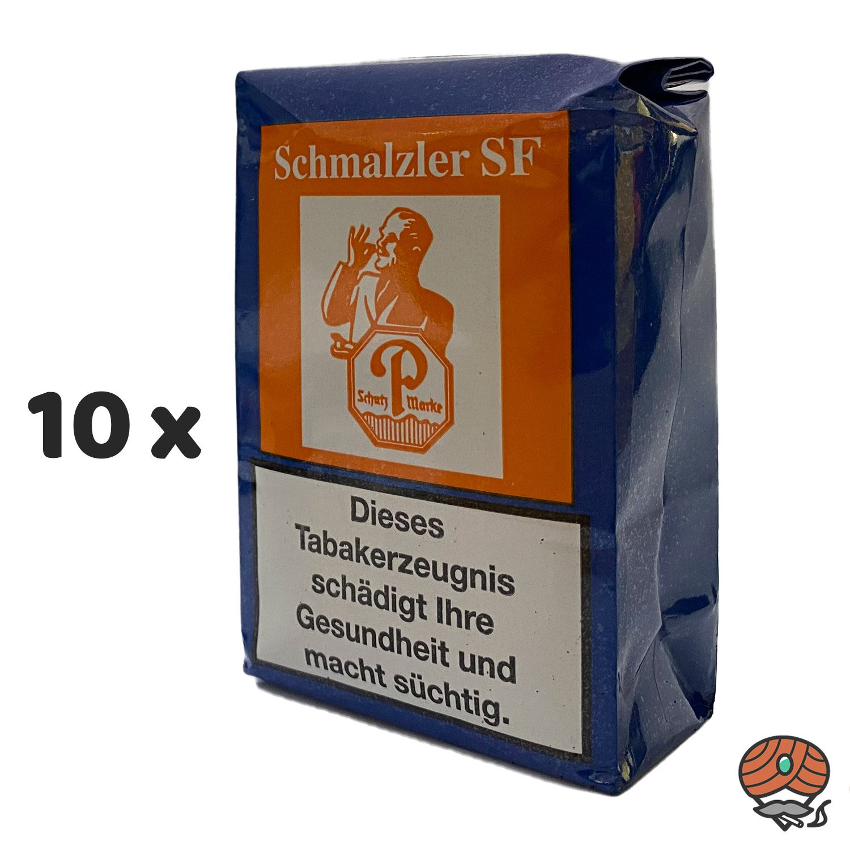 10 x Schmalzler SF (Südfrucht) Schnupftabak 100g von Pöschl