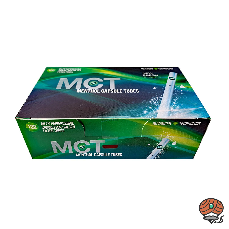 MCT Menthol Capsule Click Tubes Filter Tubes - Zigaretten Hülsen