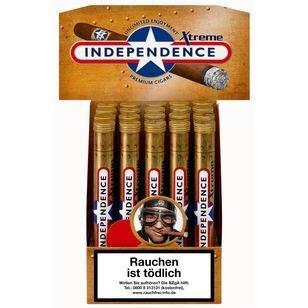 Independence Xtreme Tubes (ehemals Vanilla) Premium 20 Zigarren
