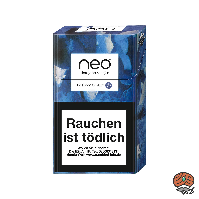 neo Brilliant Switch für GLO - Tabak Sticks 20 Stück