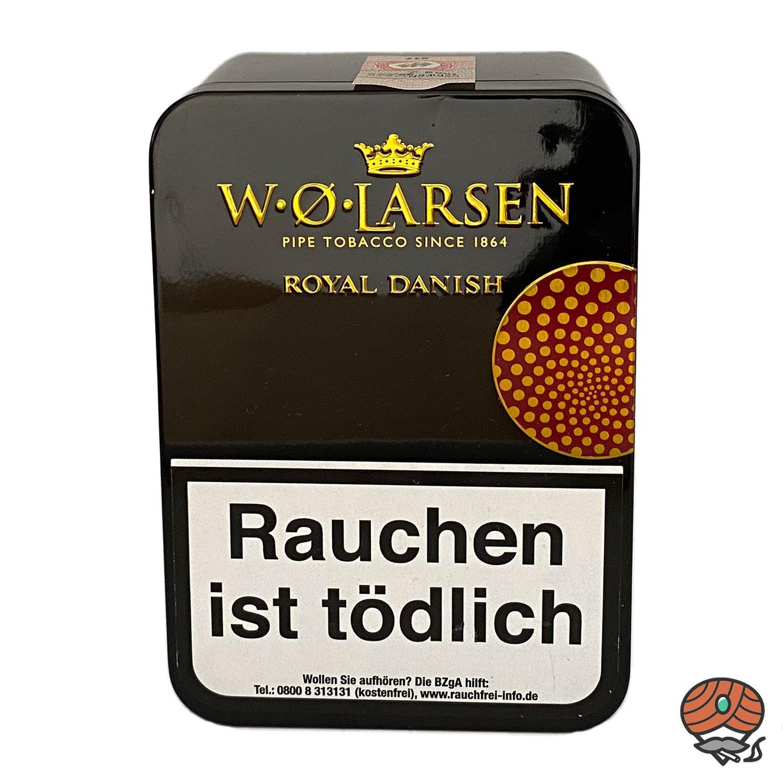 W.Ø. LARSEN Royal Danish Pfeifentabak 100g Dose