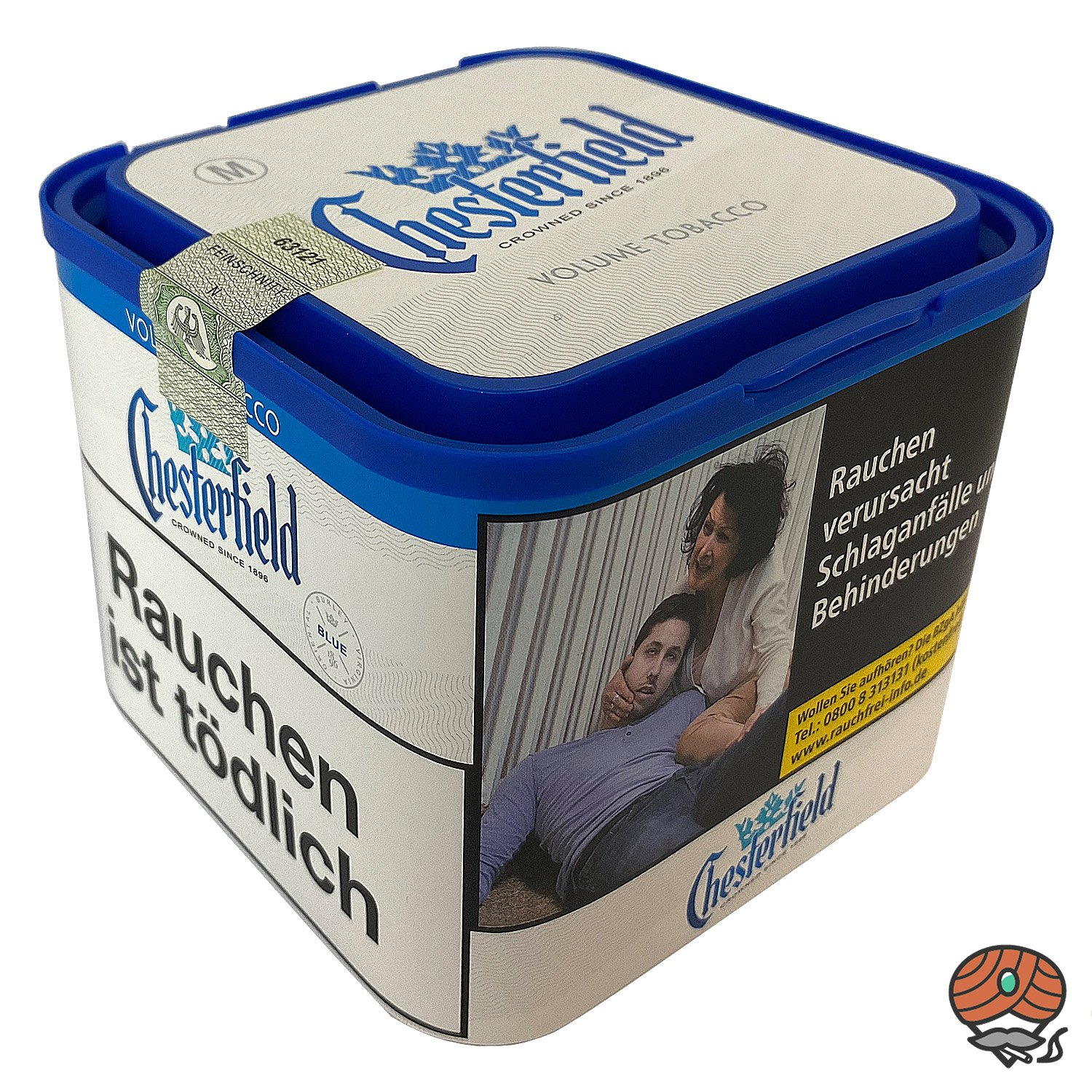Chesterfield Blue Volumentabak 45g M Dose