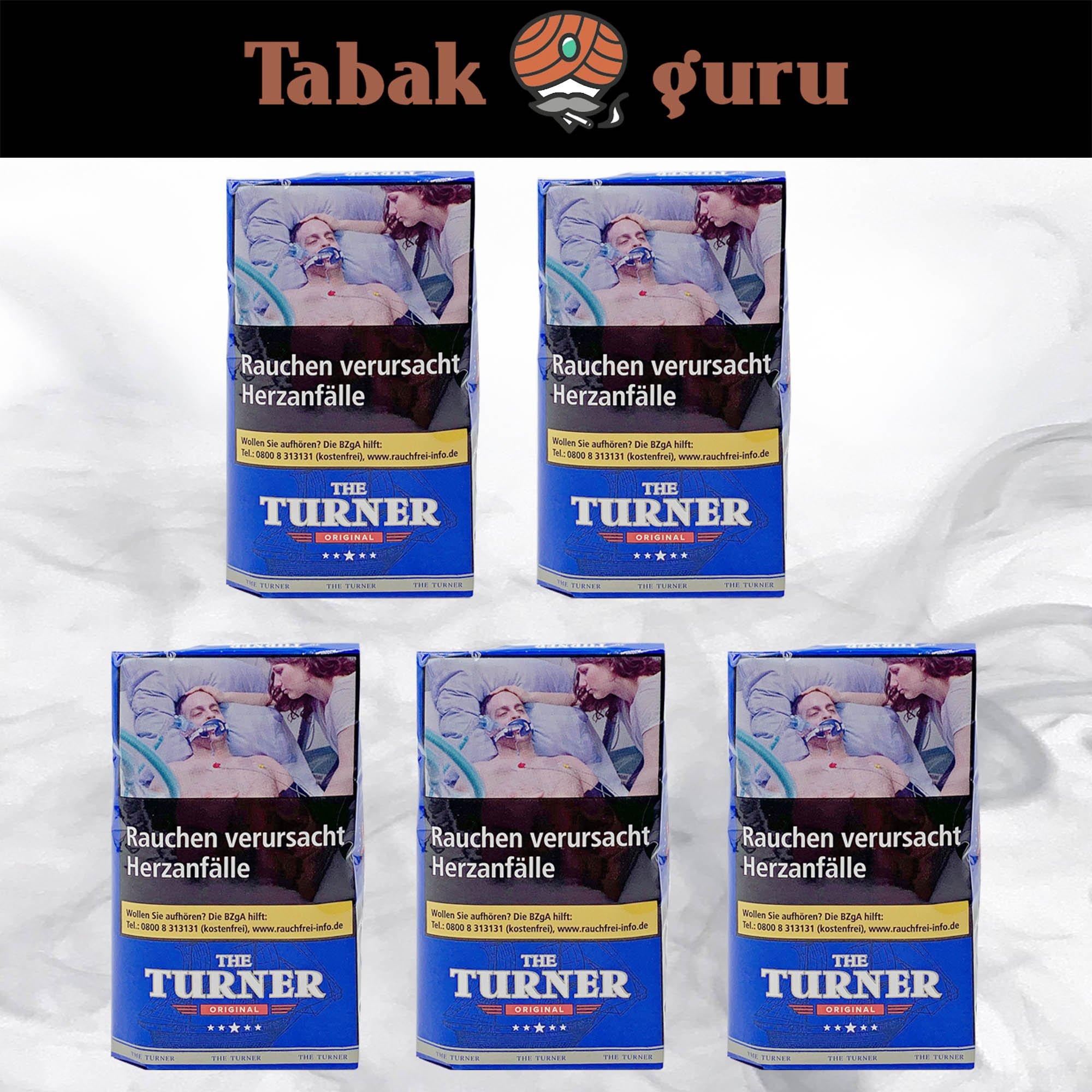 5 x The Turner Original Drehtabak Pouch à 40 g