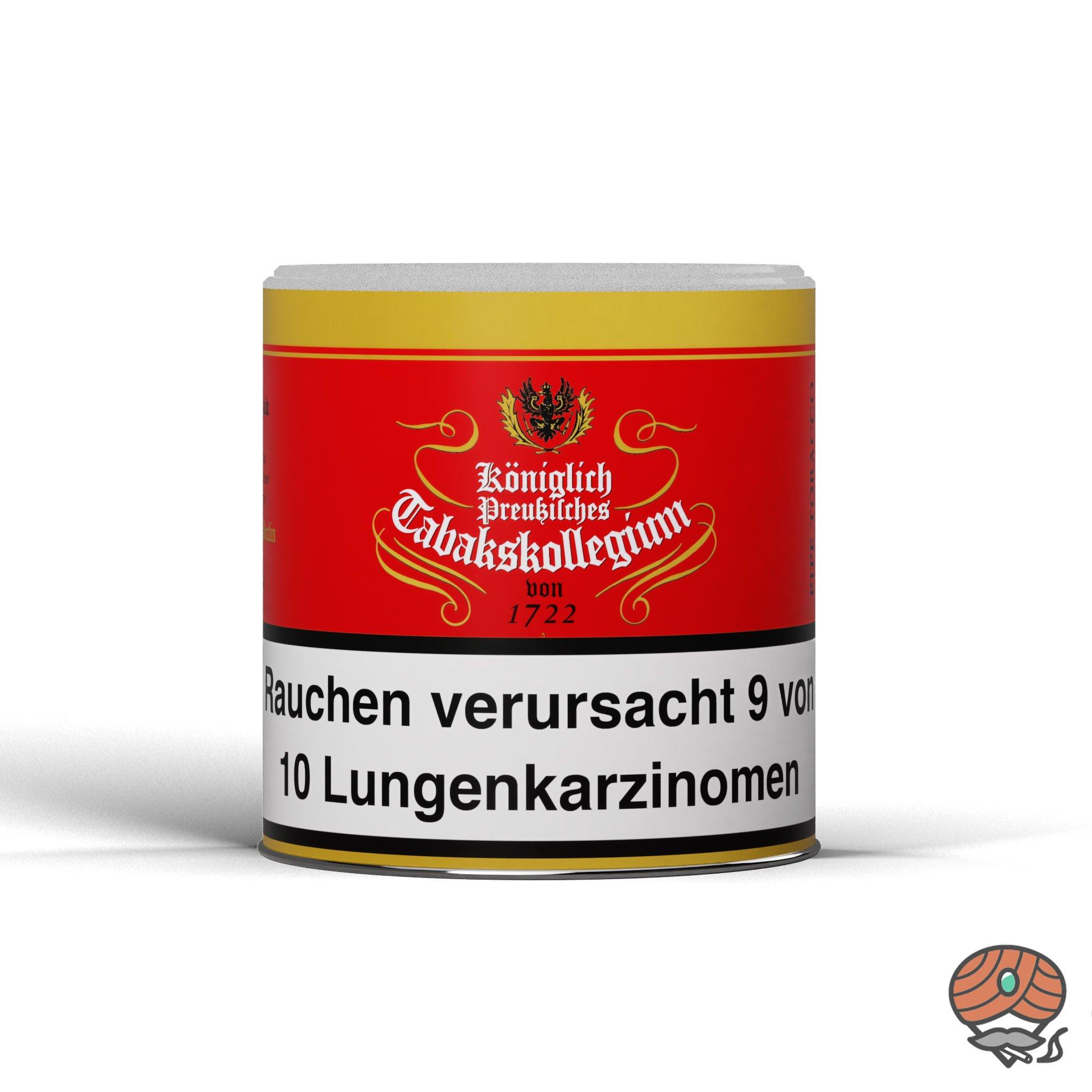 Königlich Preußisches Tabakskollegium (KPT) Rot 1722 Pfeifentabak 100 g