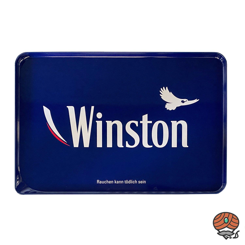 3x Winston Red/Rot Volumentabak Giant Box 260 g + King Size Hülsen + Stopftablett