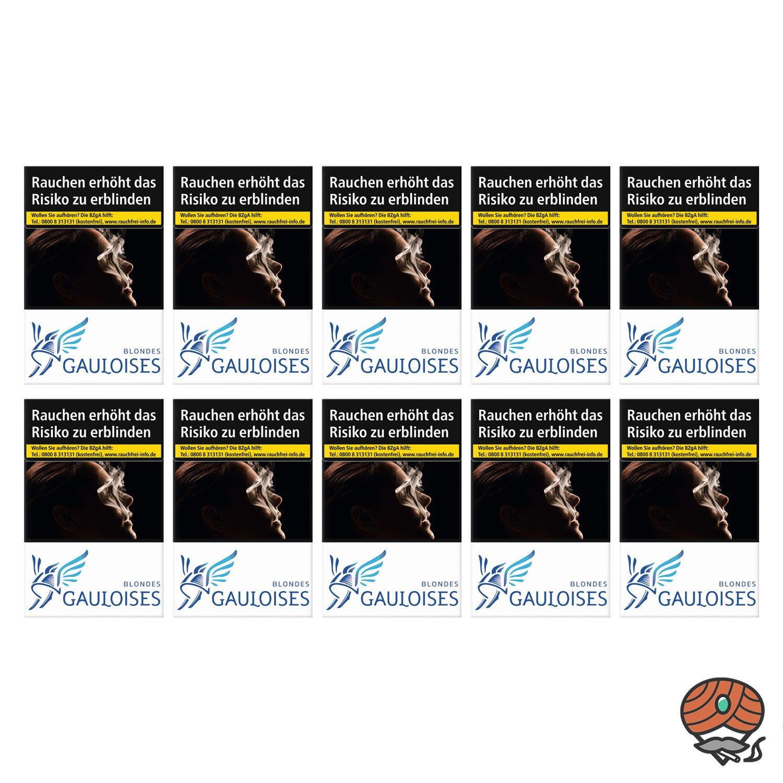 1 Stange Gauloises Blondes Weiß Zigaretten (ehem. L´autre) 10x20 Stück