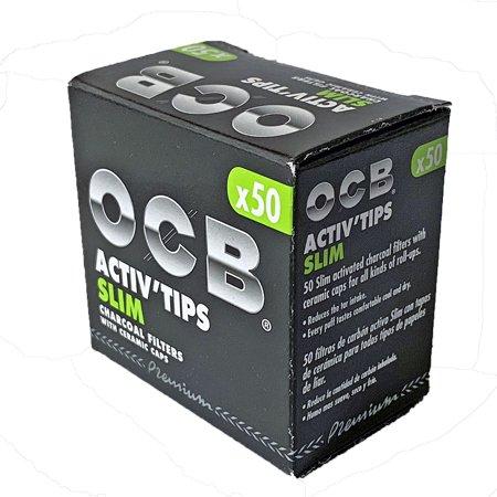 OCB Activ Tips Slim / Aktivkohle Slim Filter