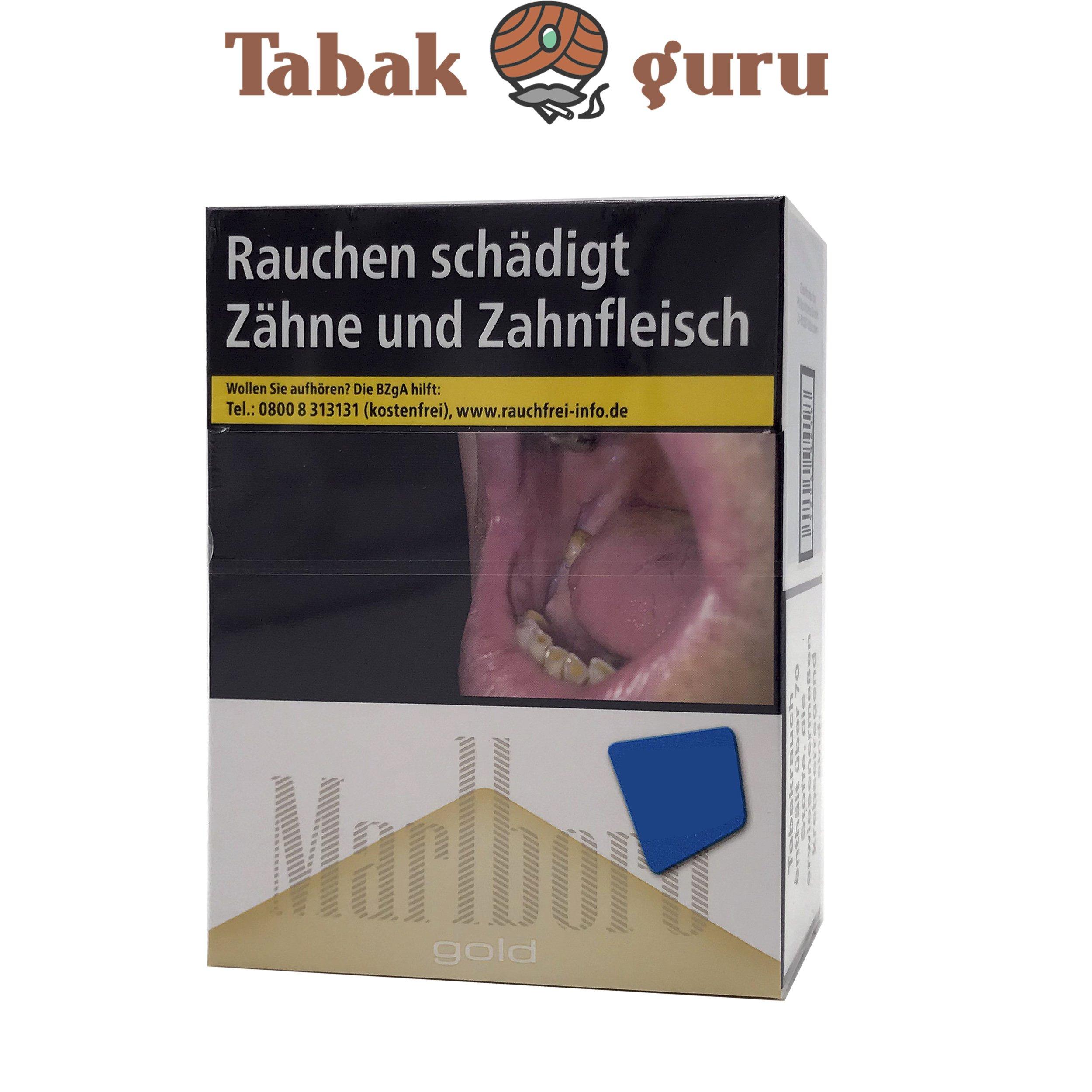 Marlboro Gold XXXL Zigaretten Inhalt 31 Stück