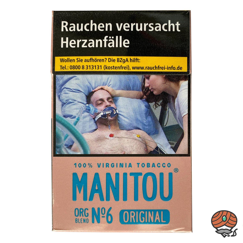 Manitou Organic Blend Original No. 6 Pink Zigaretten 20 Stück