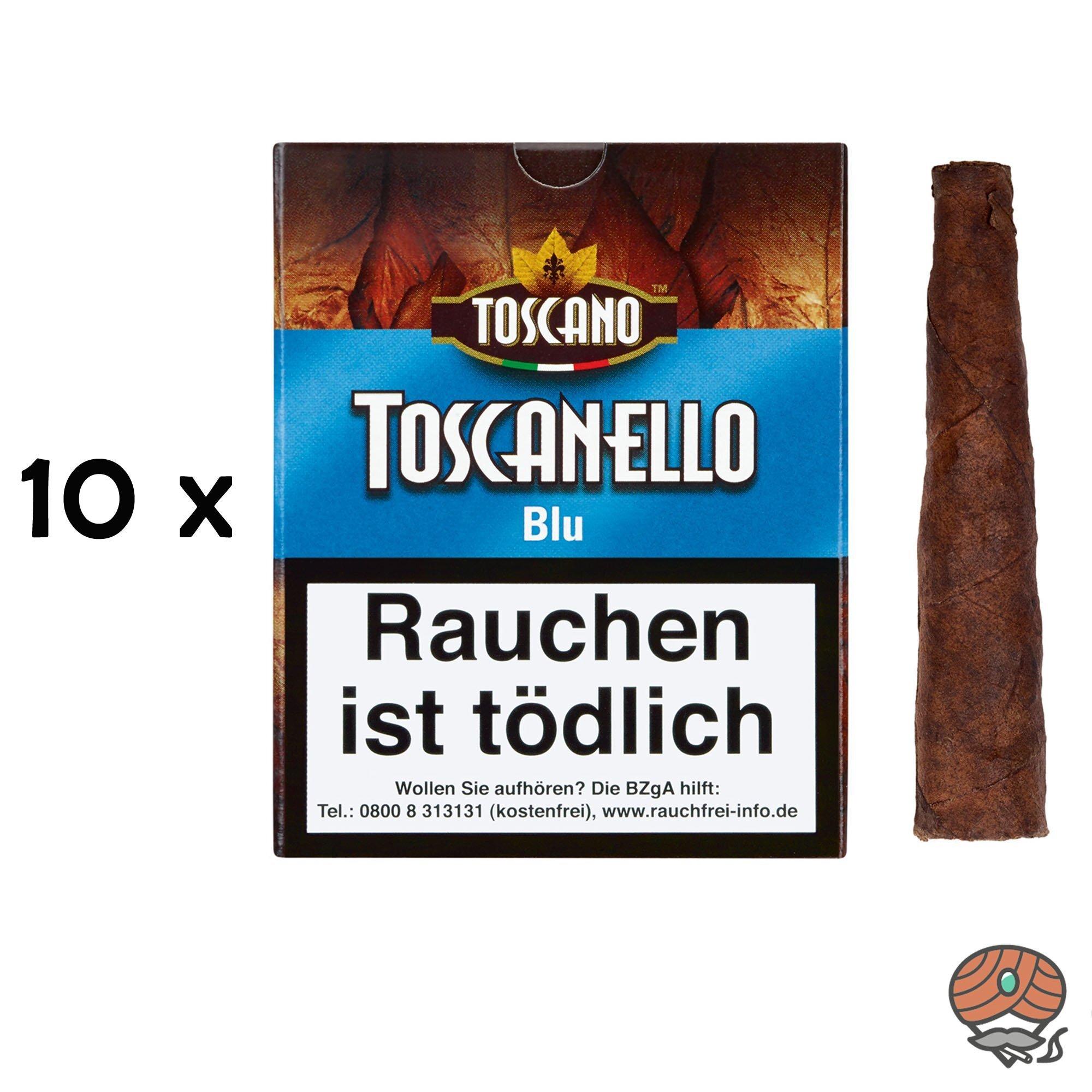 10 x Toscanello Blu (Anis) Zigarren (= 1 Stange)