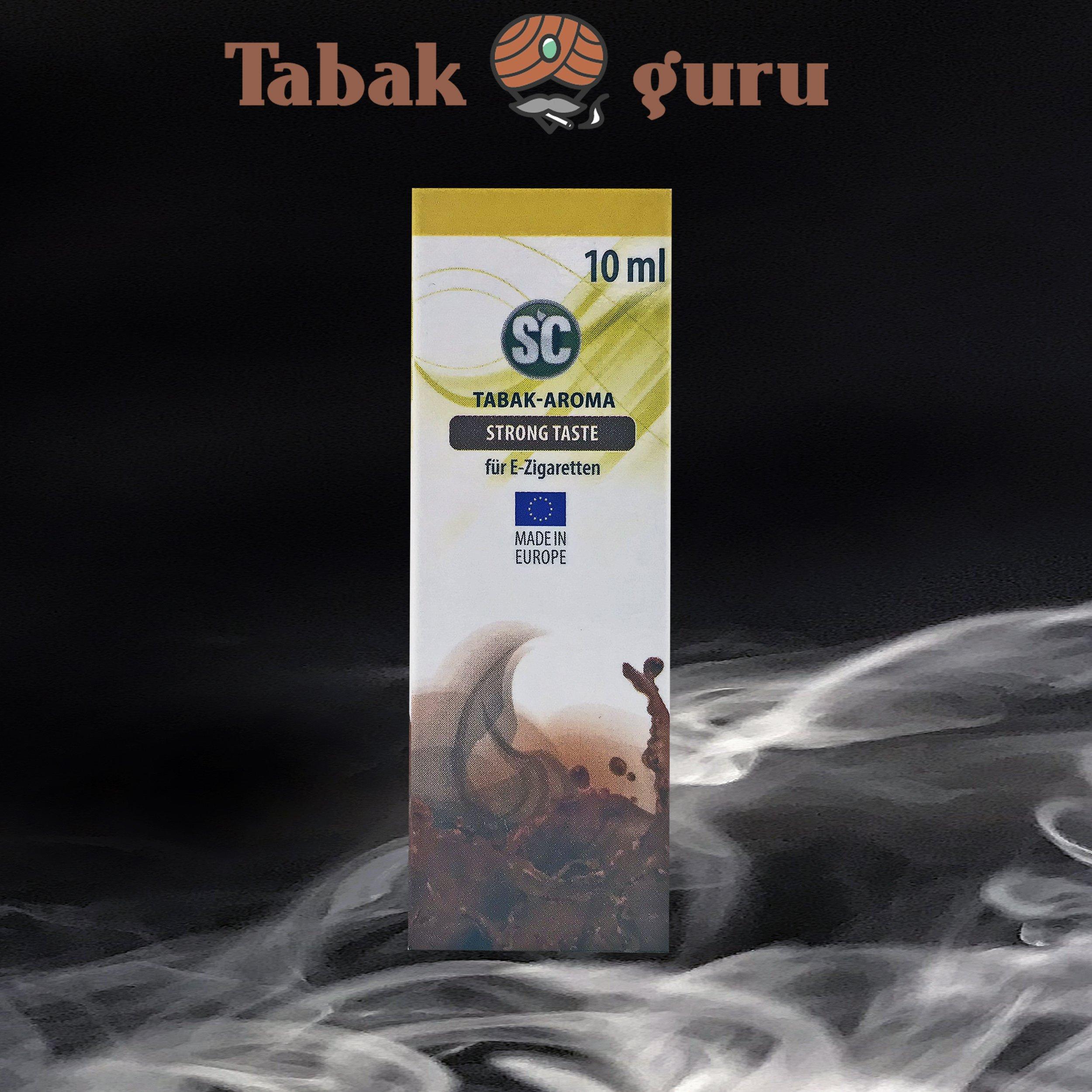 SC Strong Taste Tabak Aroma á 10 ml