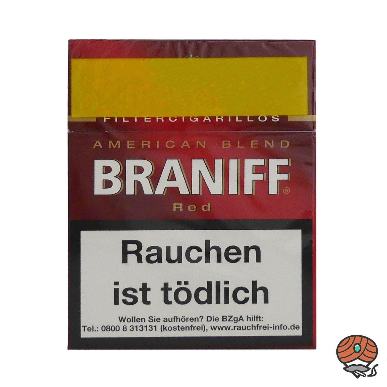 Braniff Red Filterzigarillos Big Pack á 23 Stück