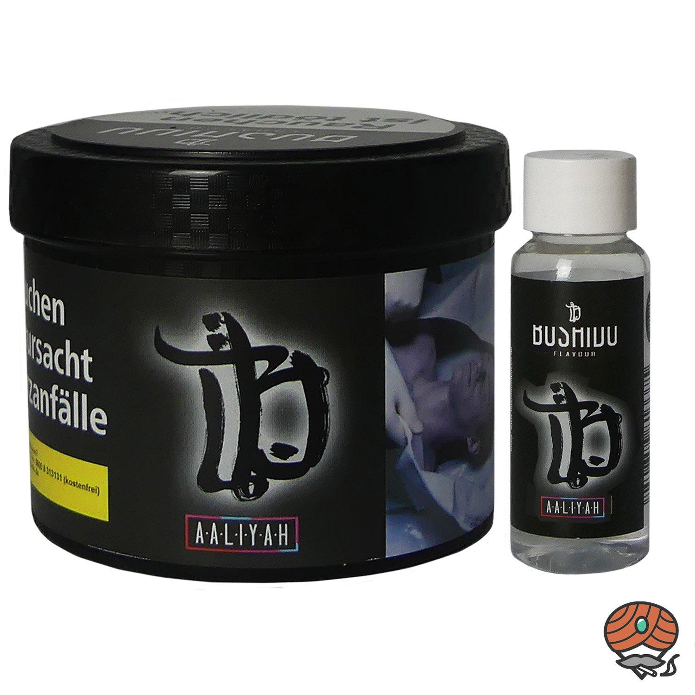 BUSHIDO Aaliyah 200 g Shisha Tabak + Aroma-Shot 20 ml