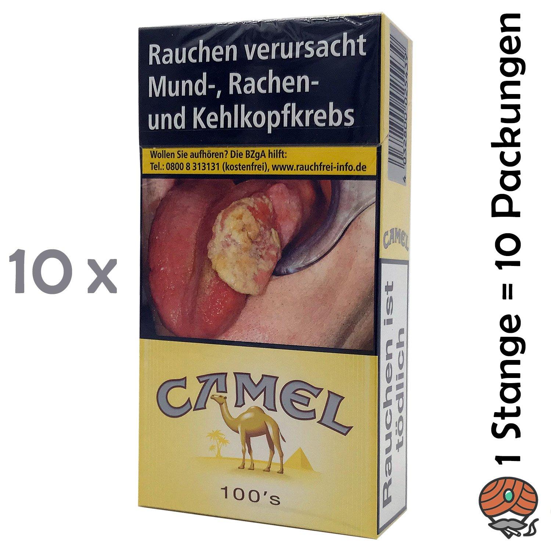 1 Stange Camel Filter 100er / Long Zigaretten 10x20 Stück