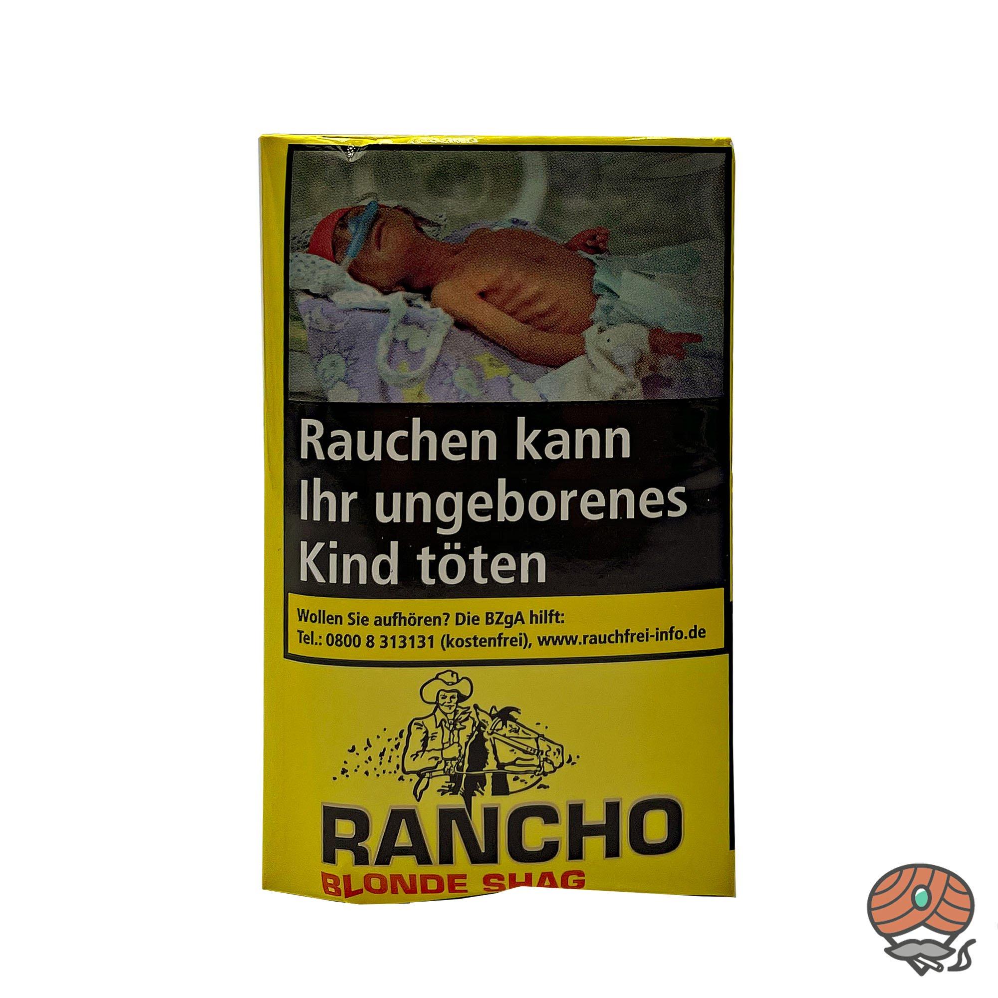 Rancho Blonde Shag Zigarettentabak 40g Beutel / Pouch