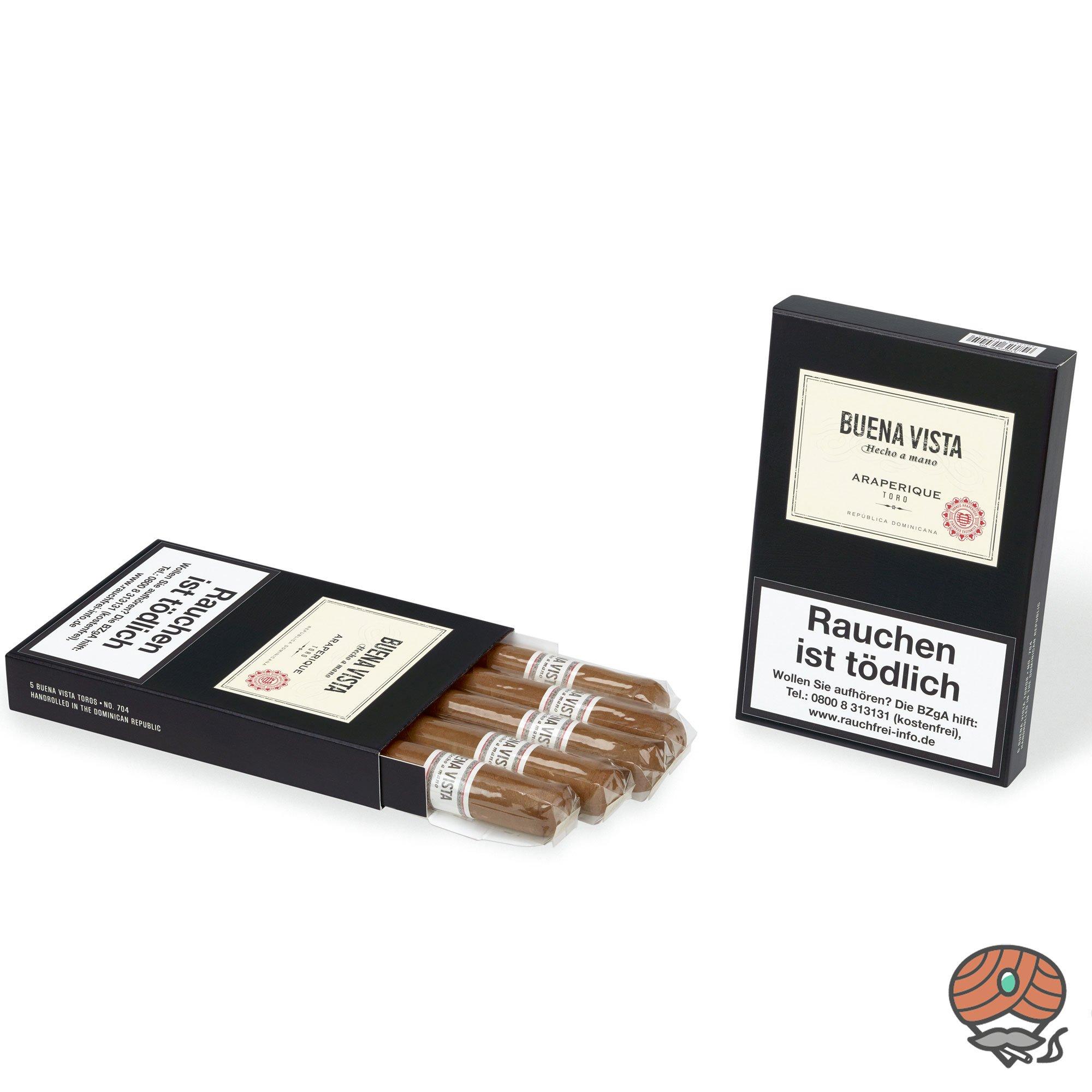 Buena Vista Araperique Toro Zigarre Dominikanische Republik  5er Pack