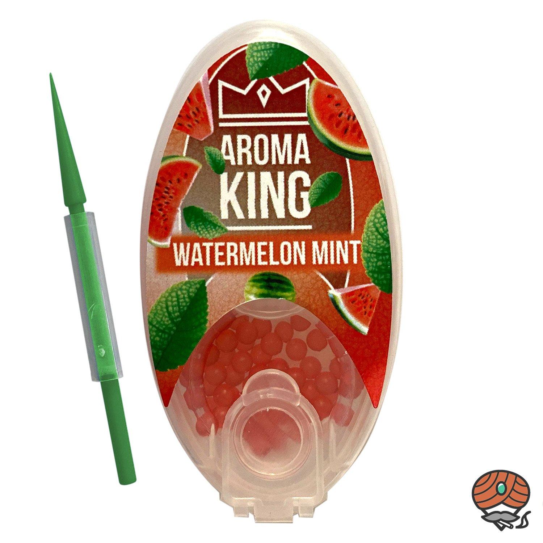 Aroma King Aromakapseln für Filterzigaretten - WATERMELON MINT Dose à 100 Kapseln