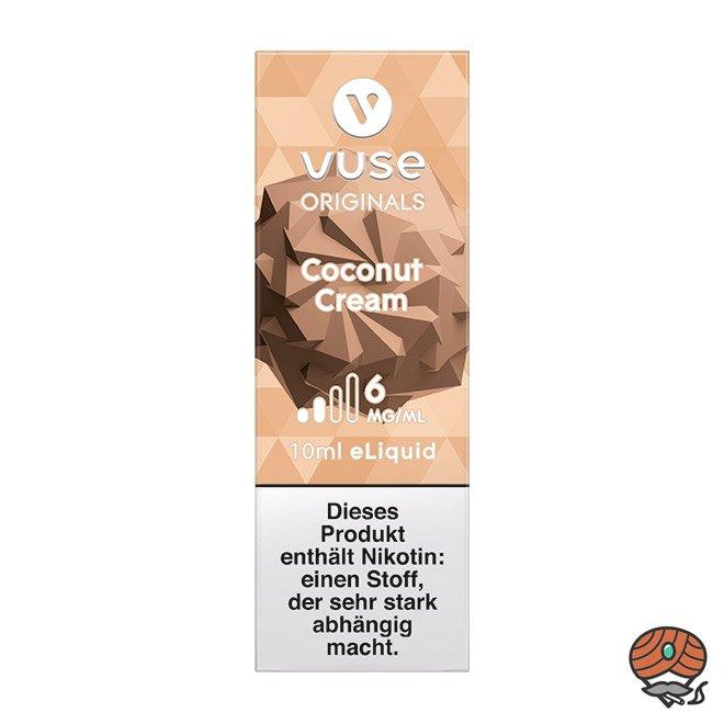 Vuse eLiquid Bottle Coconut Cream 6 mg/ml (ehem. Vype Coconut Panna Cotta)