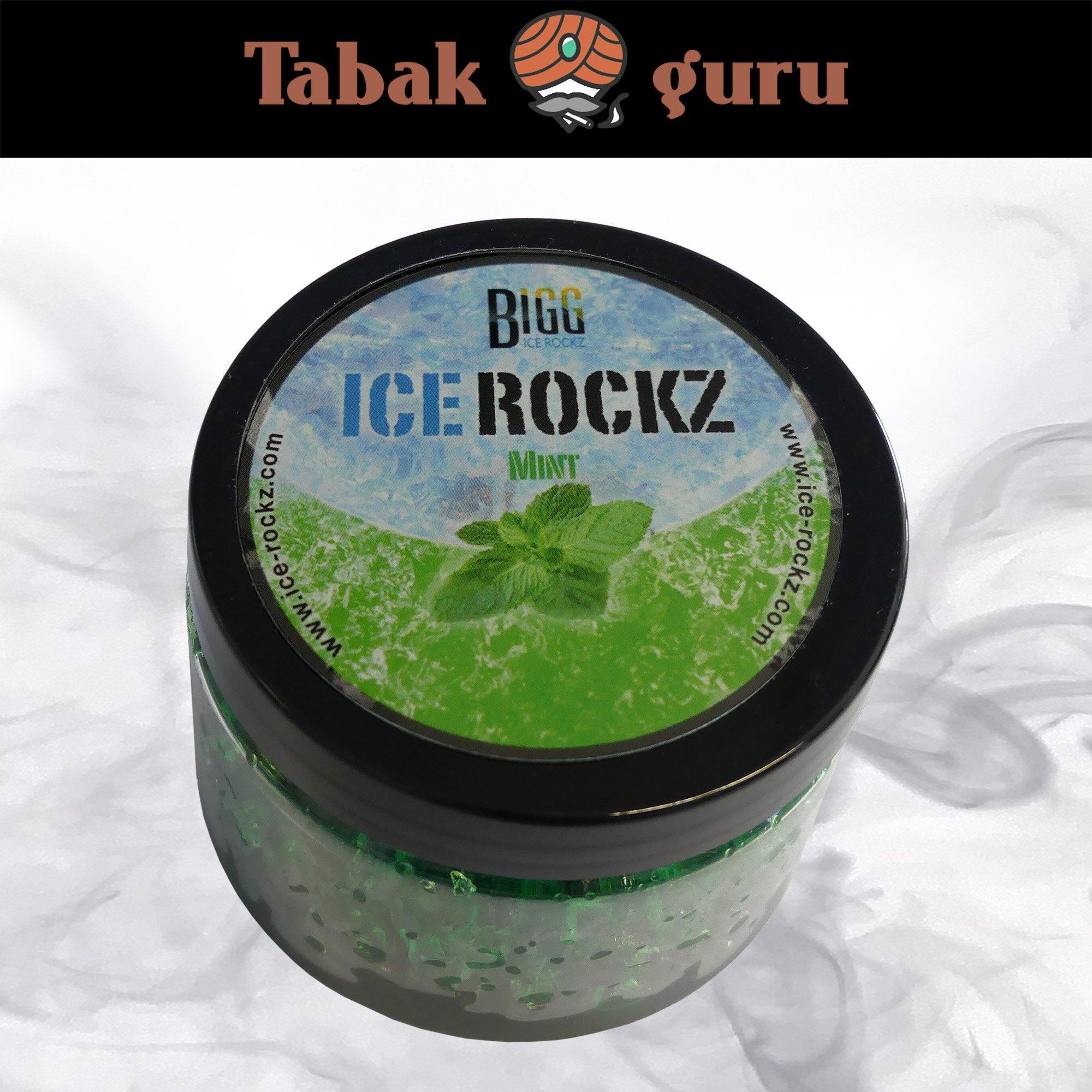 Bigg Ice Rockz - Mint 120g Dampfsteine