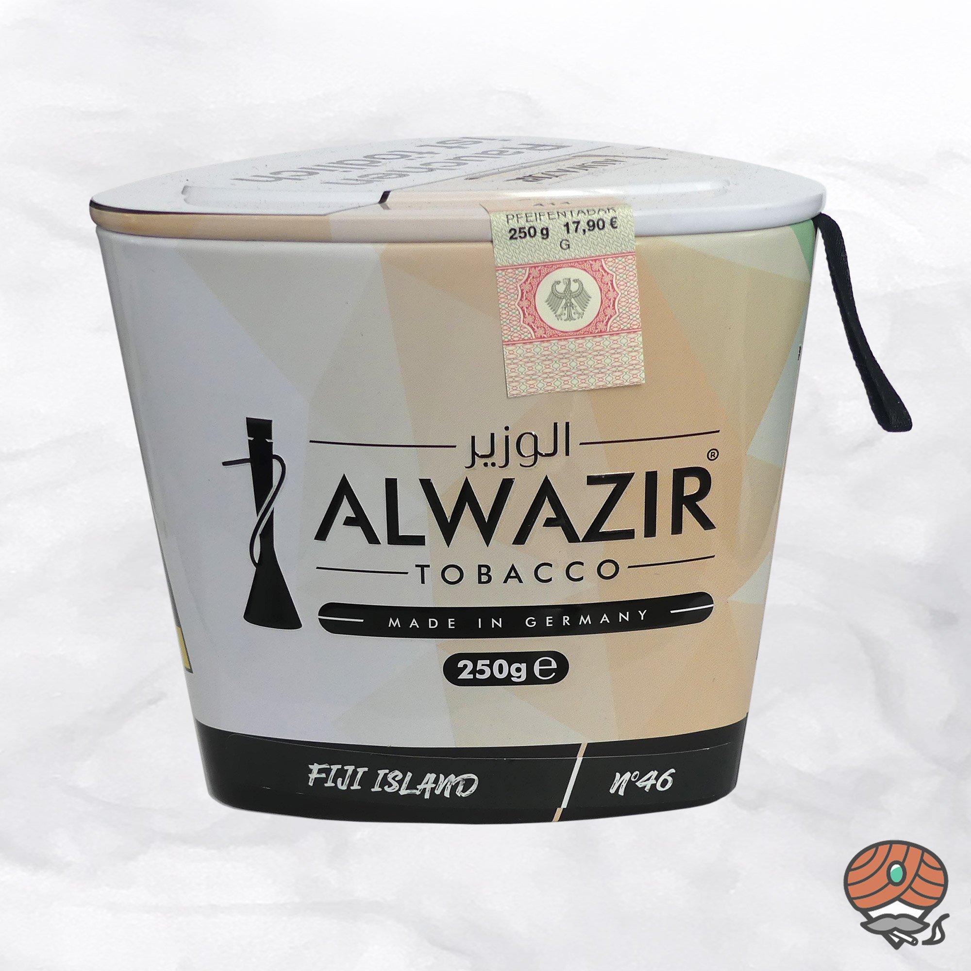 Alwazir Shisha Tabak - No. 46 - FIJI ISLAND 250g