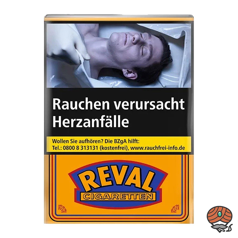 Reval Zigaretten ohne Filter Softpack 20 Stück