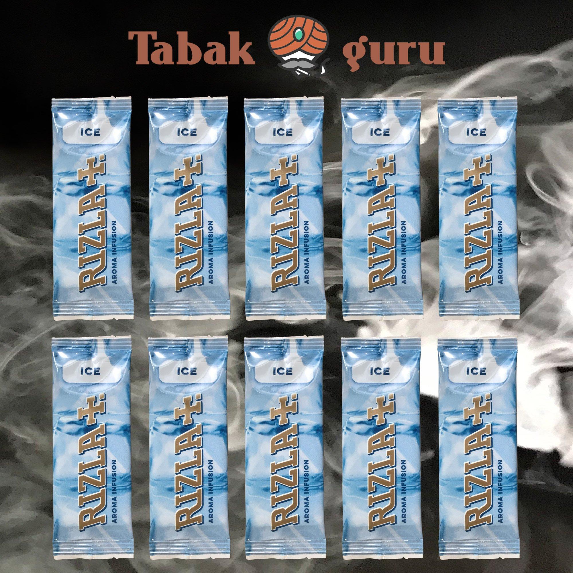 10 x Aromakarte Rizla+  ICE Aroma Infusion