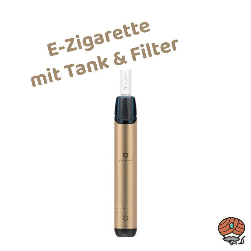 Quawins Vstick Pro Kit E-Zigarette mit Filter in Gold