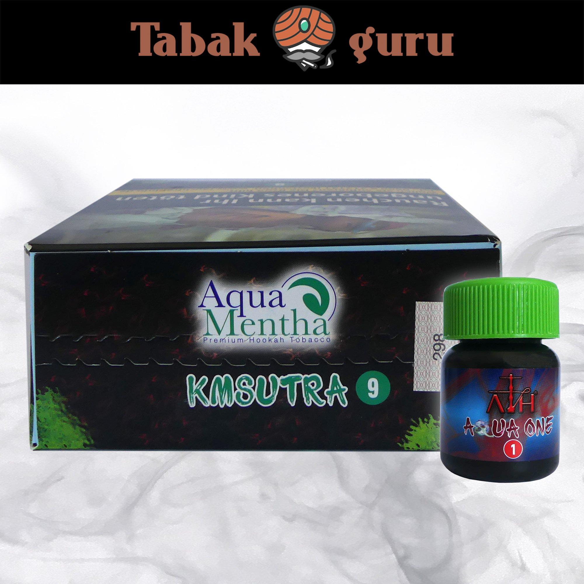 Aqua Mentha KMSUTRA #9 200g Shisha Tabak + ATH Aqua One Mix