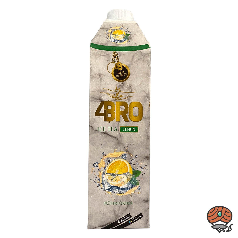 4BRO ICE TEA Eistee 1 Liter LEMON Zitronengeschmack