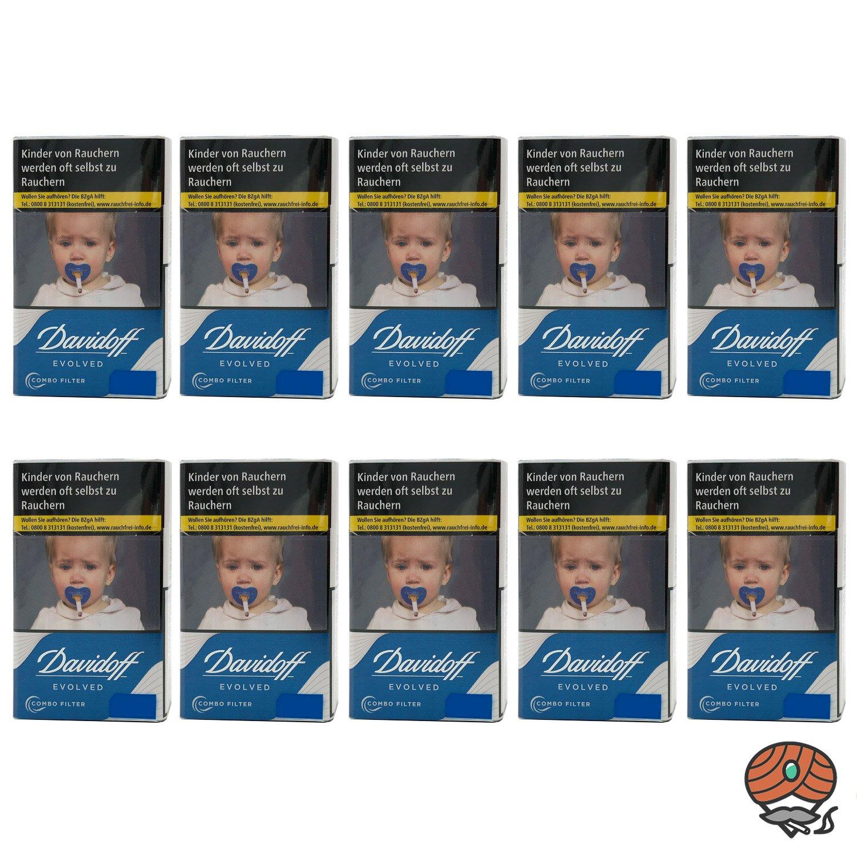 1 Stange Davidoff Evolved Blue Zigaretten 10x20 Stück