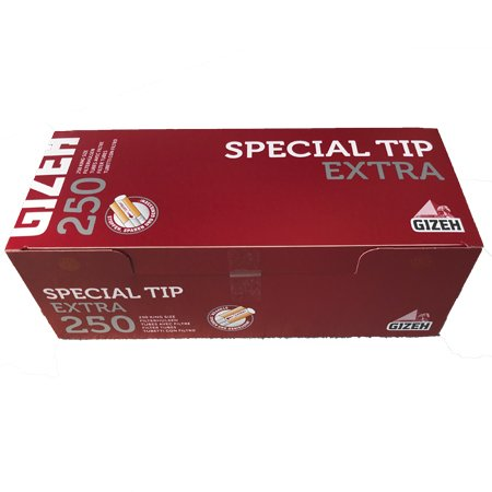 250 Gizeh Special Tip Extra Filterhülsen