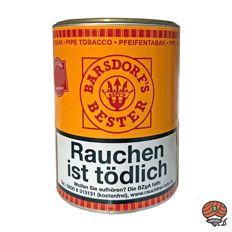 Käpt´n Barsdorf´s Bester Fine Flavor Aromatic Mixure Pfeifentabak 160g Dose