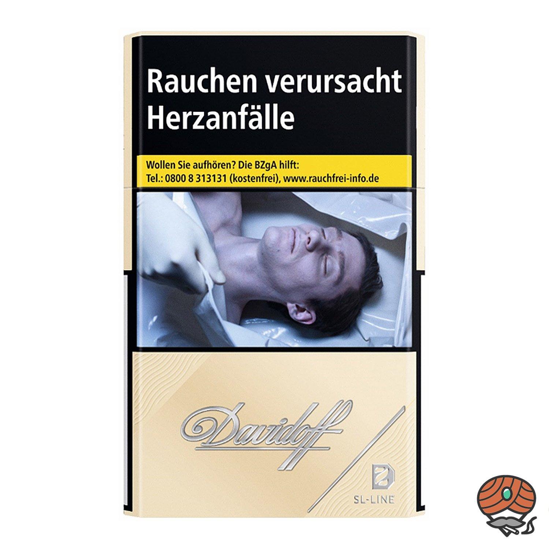 Davidoff Gold Slim / SL-Line Zigaretten 20 Stück