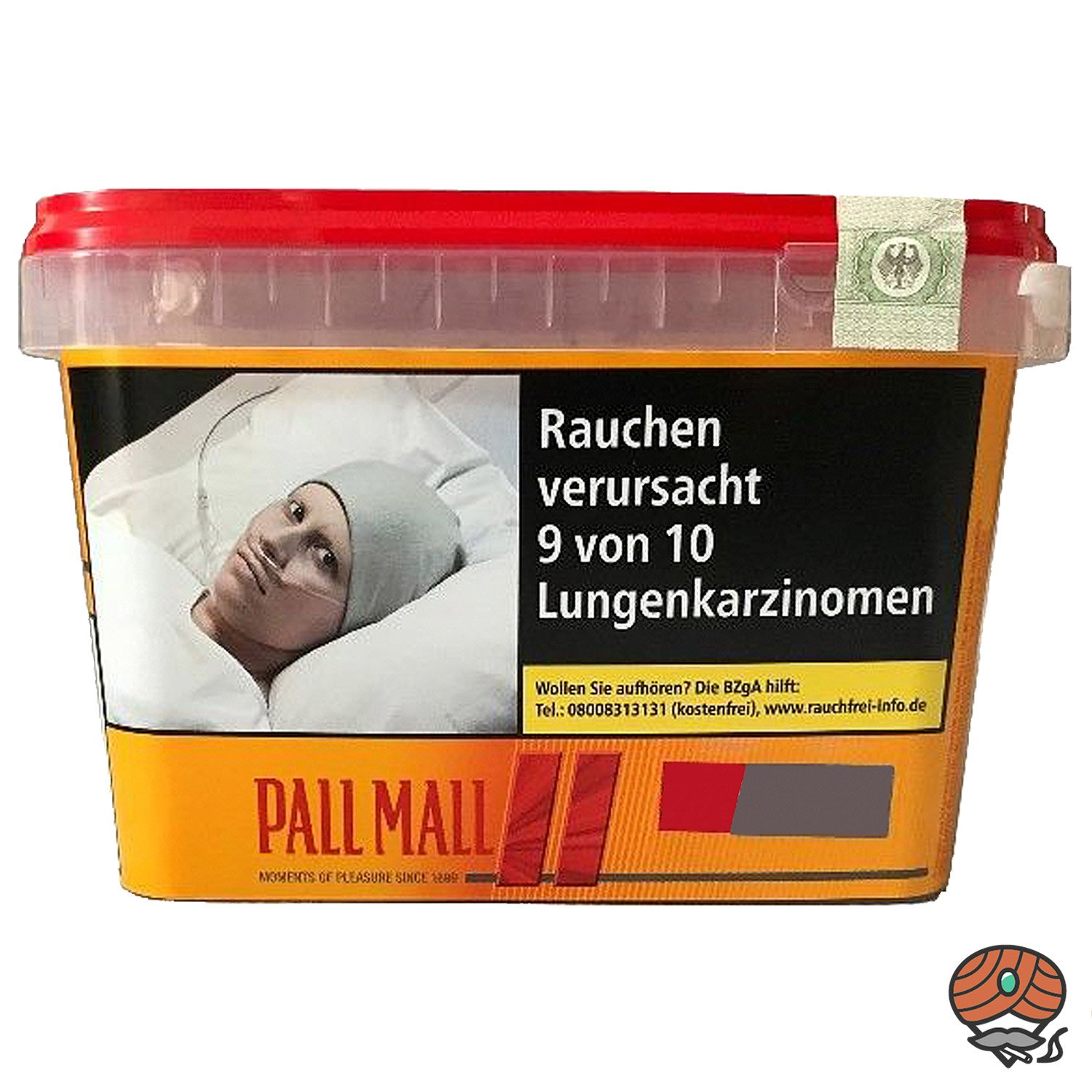 Pall Mall Allround Red Volumentabak / Tabak 170g Mega Box