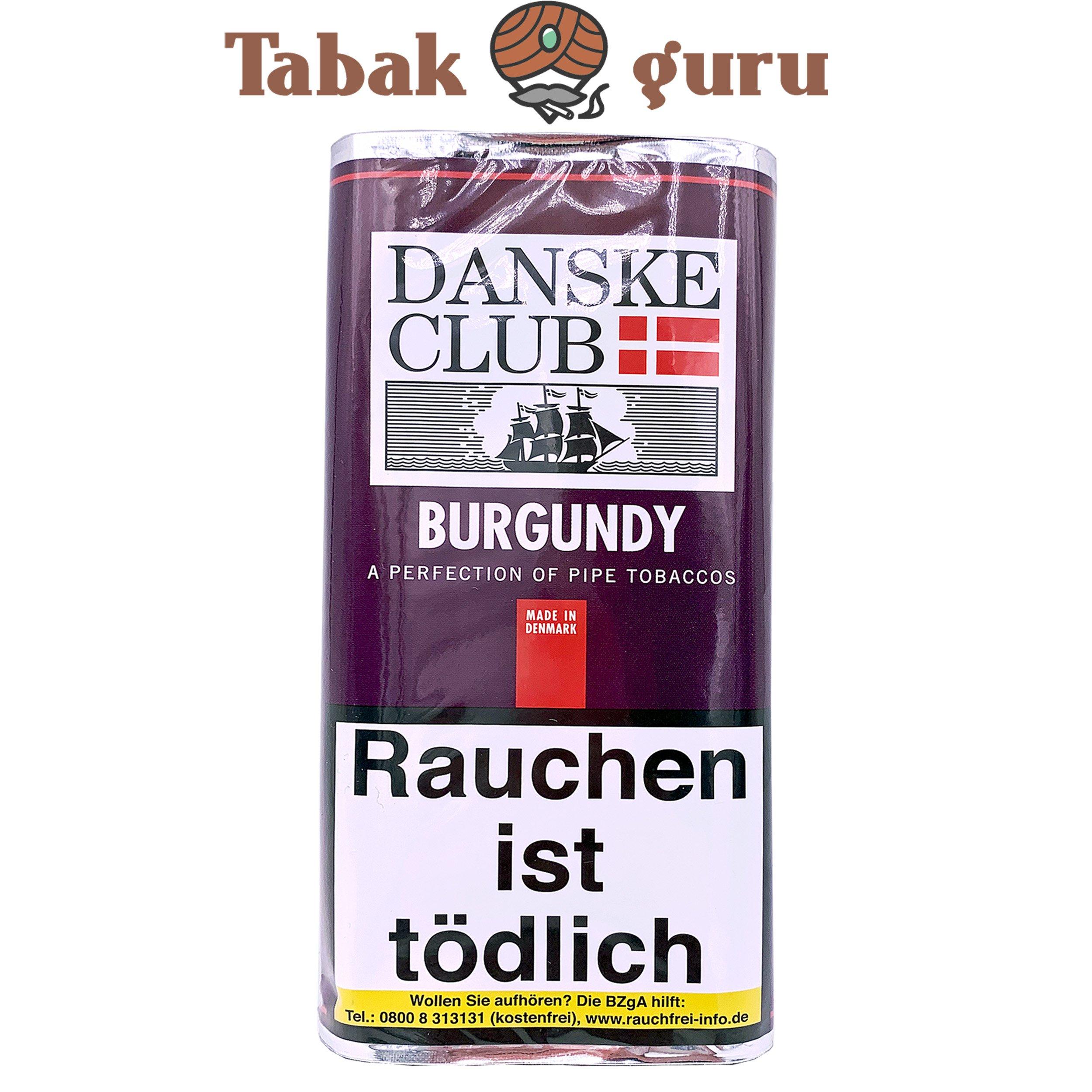 Danske Ckub Burgundy Pfeifentabak 50g Pouch