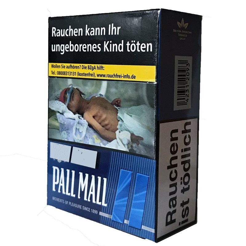 Pall Mall Blue / Blau XL (22 Stück)