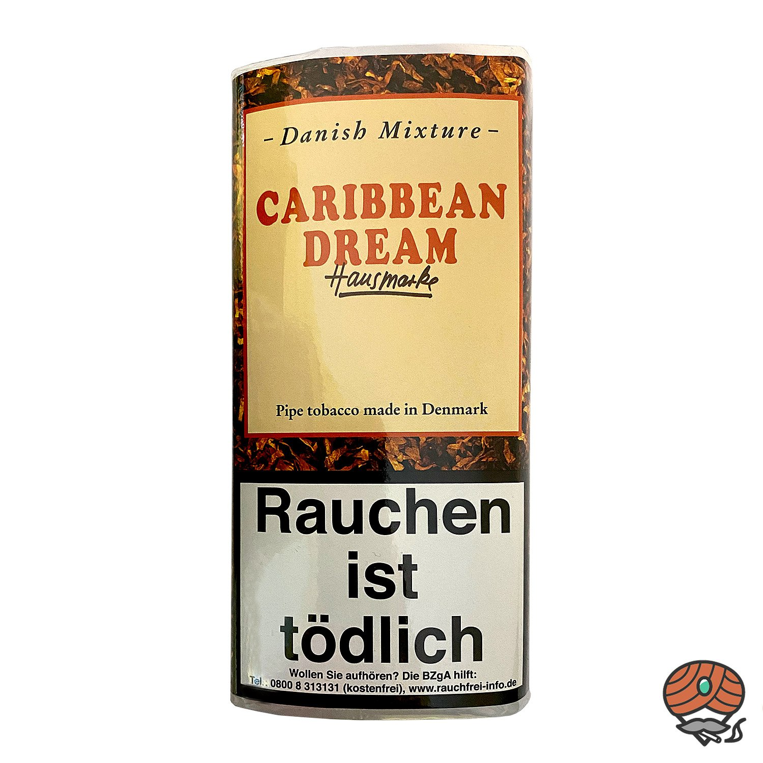 Danish Mixture Hausmarke Caribbean Dream Pfeifentabak 50g Pouch