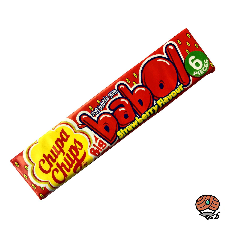 Chupa Chups Big babol Erdbeer-Geschmack Soft-Kaugummi