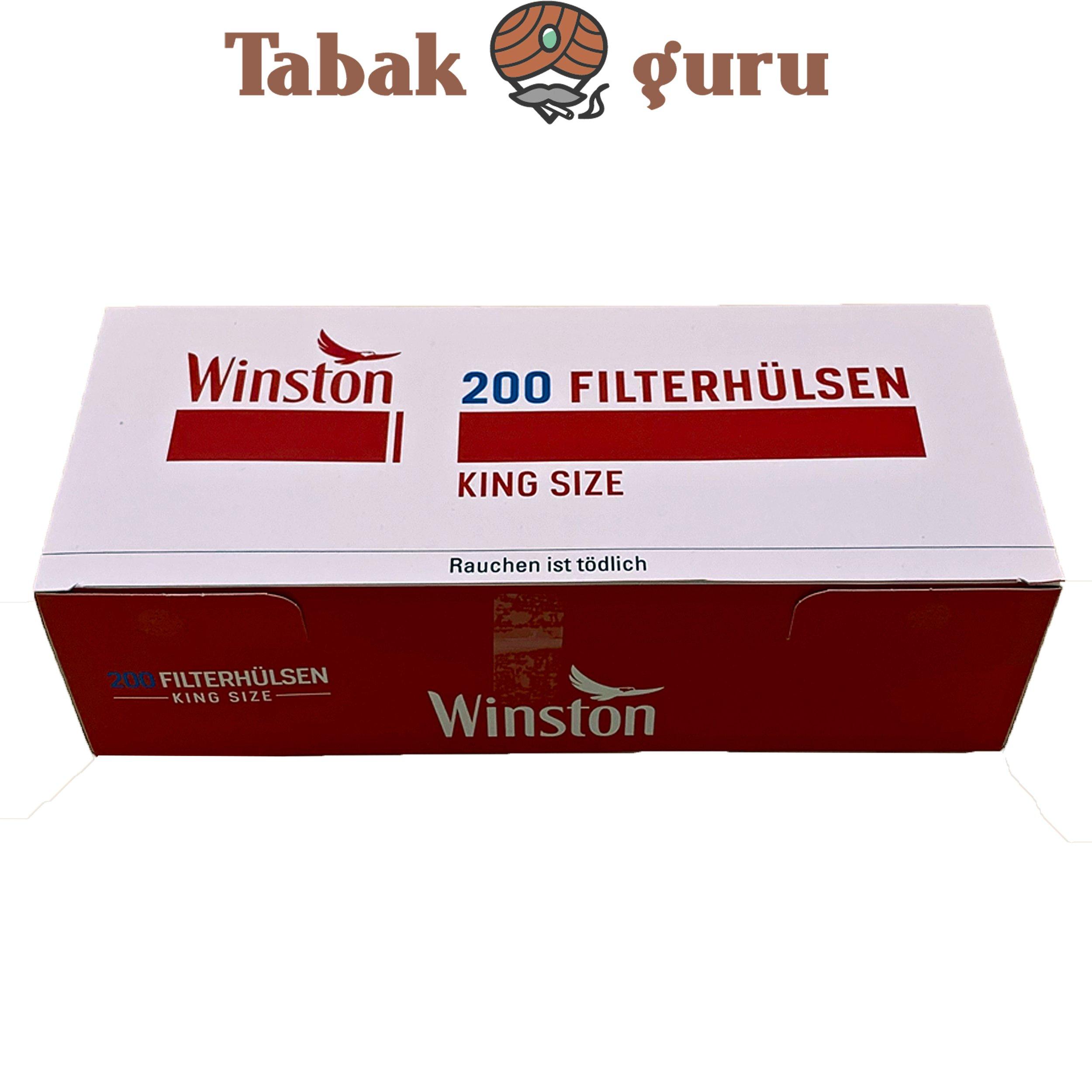 Winston King Size Filterhülsen