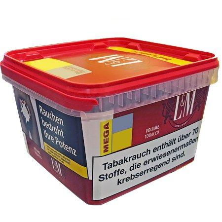 L&M Rot BIG BOX (ehem. Mega) Volumentabak 155 g