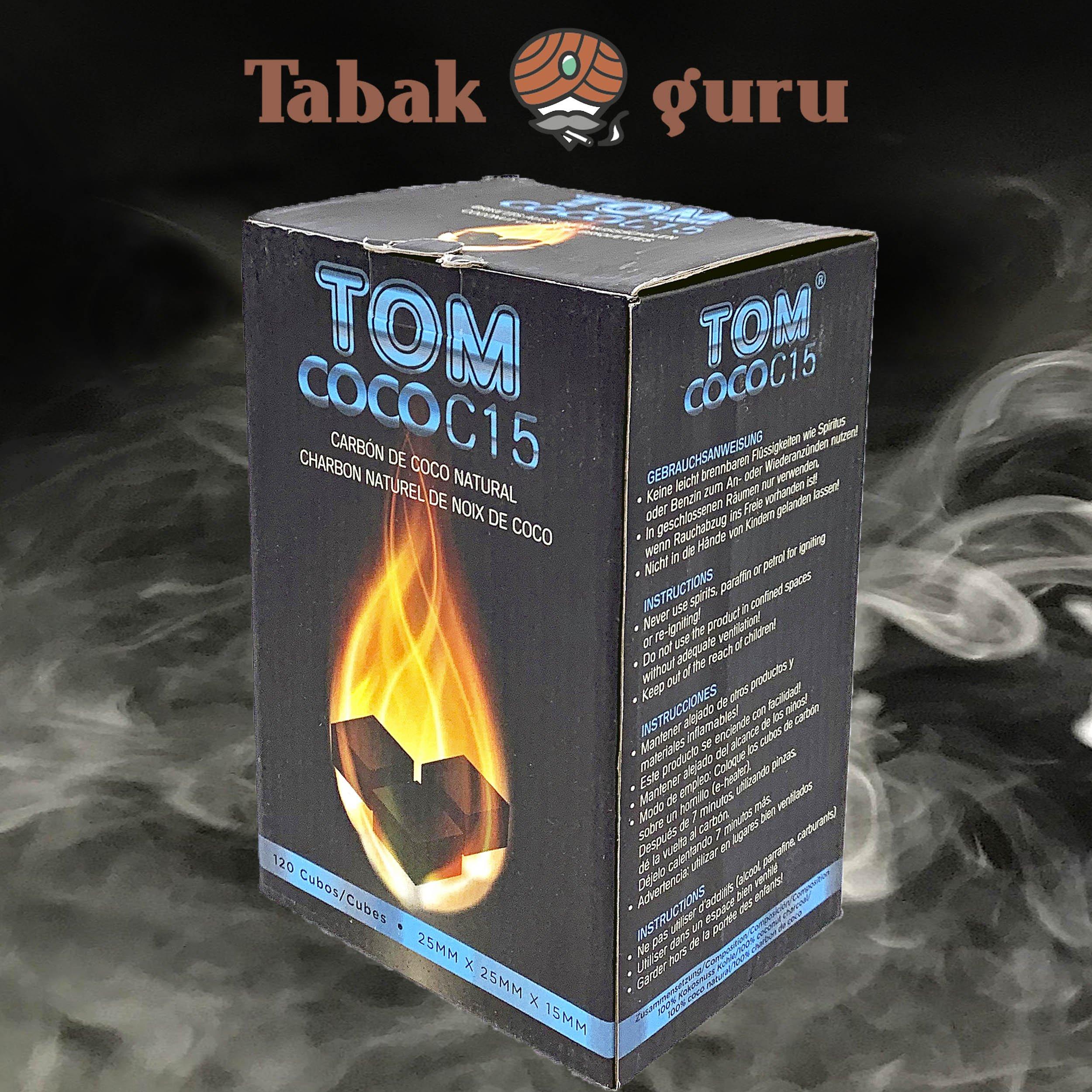 TOM Cococha Shishakohle / Wasserpfeifenkohle 1kg